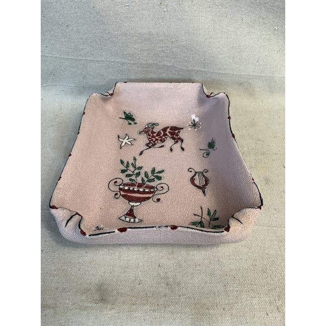Mid-Century Modern Fratelli Fanciullacci Ceramic Dish For Sale In New Orleans - Image 6 of 12