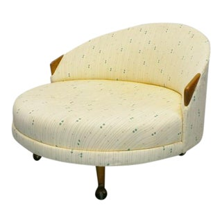 "Mid Century Modern Adrian Pearsall Craft Associates 1717-Rc ""Havana"" Lounge Chair For Sale"