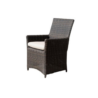 Modern Parsons Cushion Arm Chair For Sale
