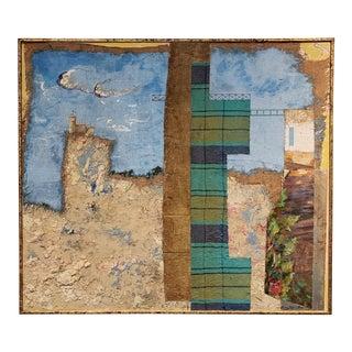 Multi Media Scotland Landscape Painting by Artist Jacques Lamy For Sale