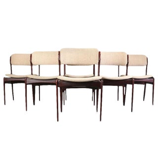 Mid-Century Erik Buch Dining Chairs- Set of 6 For Sale