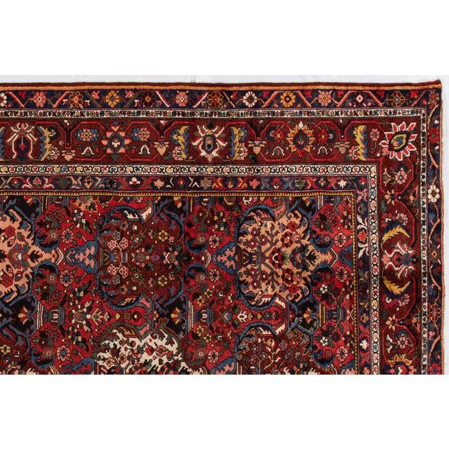 "Apadana - Antique Bakhtiari Rug, 10'6"" X 13'5"" For Sale - Image 4 of 10"
