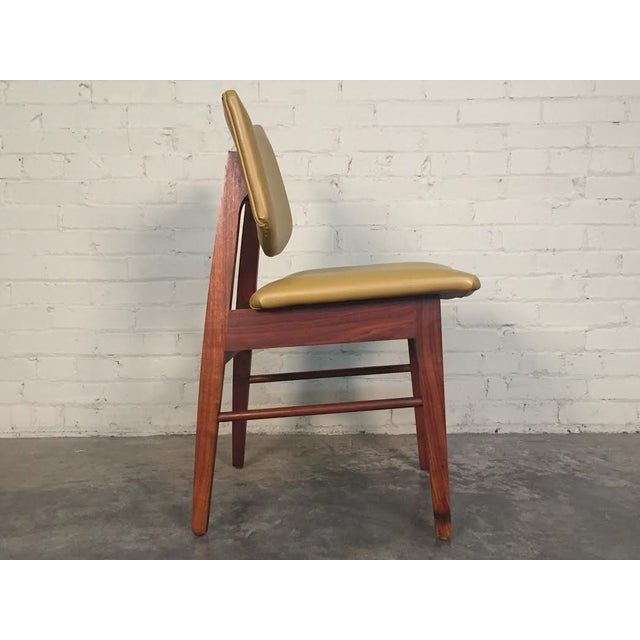 Jens Risom Style Mid-Century Modern Desk Chair - Image 7 of 8