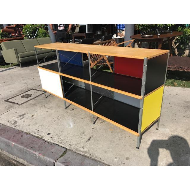 Rare Eames Storage Unit - Image 3 of 4