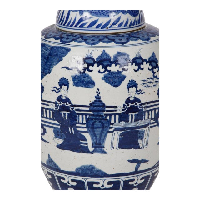 Chinese Ginger Jars - A Pair For Sale - Image 4 of 5