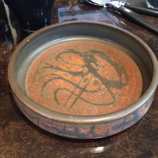 Mid-Century Studio Pottery Bowl - Image 5 of 6