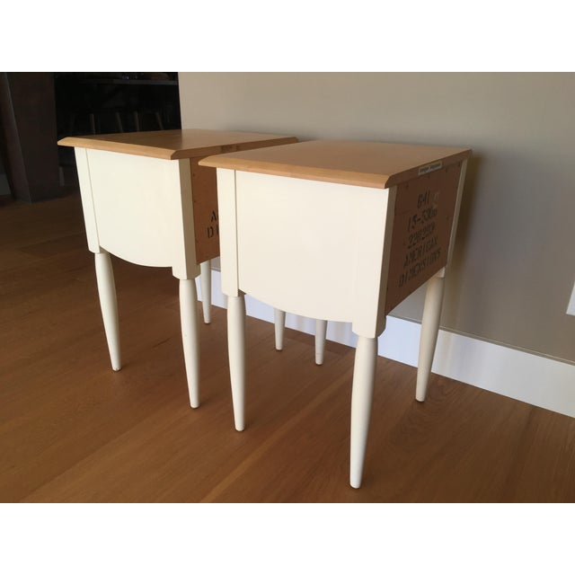 Ethan Allen American Dimensions Nightstands A Pair