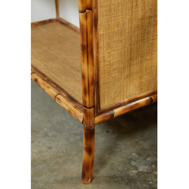 Not Yet Made - Made To Order Jw Custom Line Bamboo Bookcase For Sale - Image 5 of 8