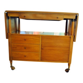 Mid Century Bar Cart by John Widdicomb