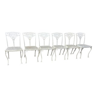 Vintage Woodard Patio Chairs - Set of 6