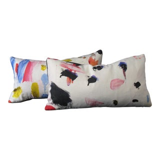 Pierre Frey Fabric Pillows - a Pair