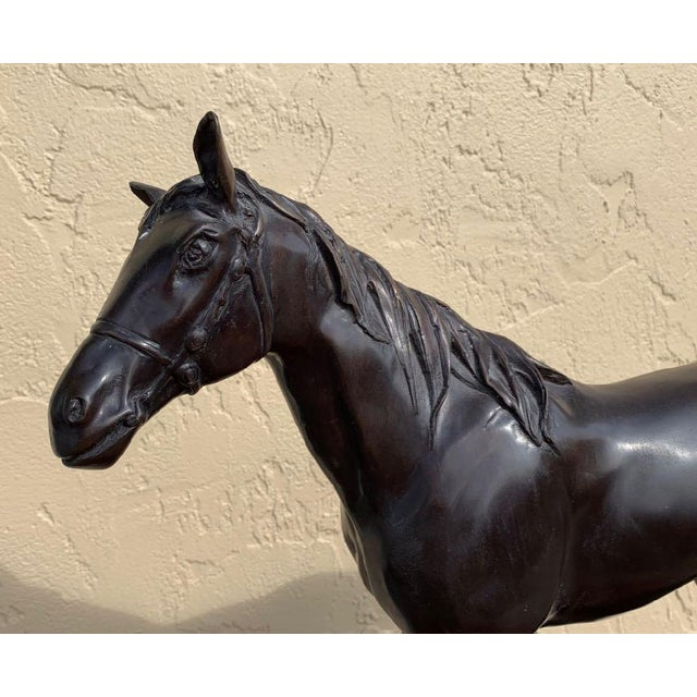 Maitland Smith Equestrian Bronze For Sale In Tampa - Image 6 of 10