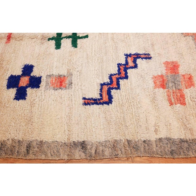 Late 20th Century Vintage Moroccan Rug For Sale - Image 5 of 11