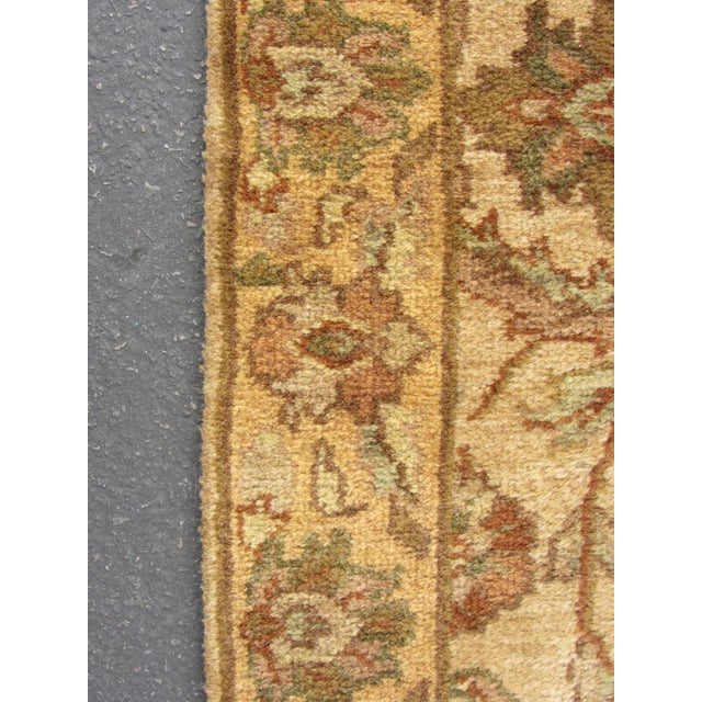 "Oriental Hand Woven Wool Runner - 2'6"" x 7'11"" - Image 4 of 11"