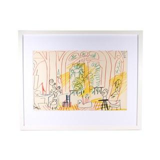"""Pablo Picasso 1959 Lithograph After """"Carnet De La Californie"""" For Sale"""