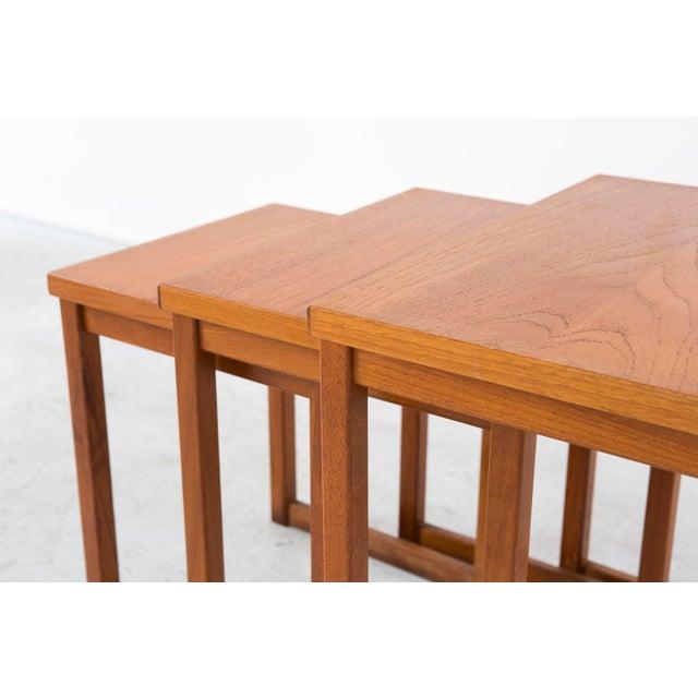 Kai Kristiansen Nesting Tables For Sale In Chicago - Image 6 of 8