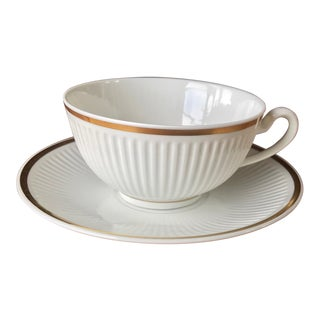 Royal Copenhagen Denmark Signed Cup & Saucer For Sale