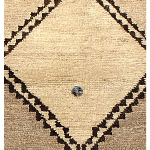 Asian Vintage Tribal Gabbeh Rug For Sale - Image 3 of 3