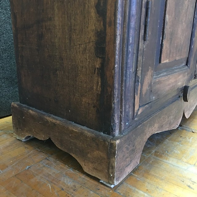 Refinished Antique Wooden Armoire - Image 4 of 10