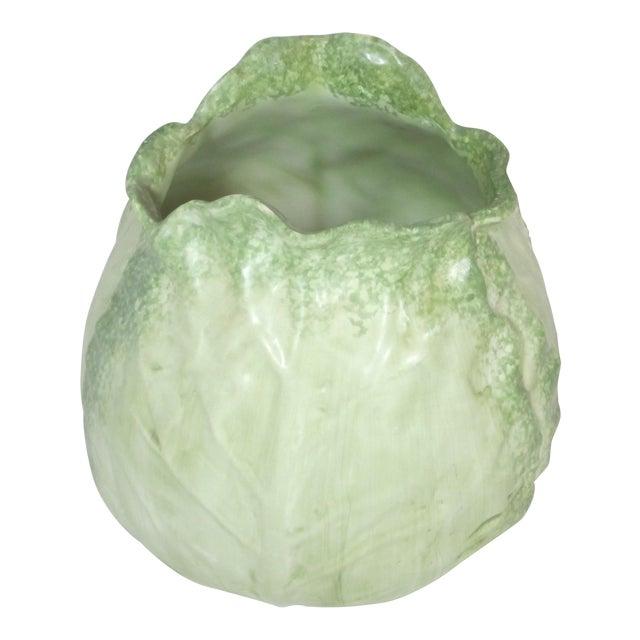 Vintage Mann Cabbage Vase For Sale