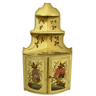 Japanese Inspired Lacquered Cabinet For Sale