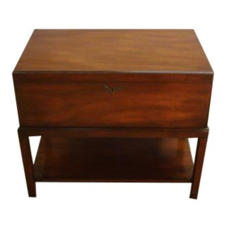 Kittinger Solid Mahogany Lamp Table For Sale