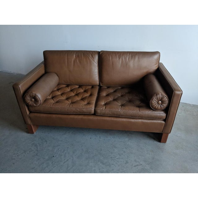 Mies Van Der Rohe for Knoll Settee For Sale In Providence - Image 6 of 11