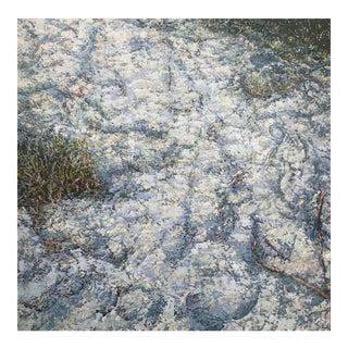 "Marsh Large Contemporary Landscape ""Sand"""