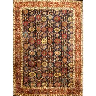 Pasargad N Y Indo Antique Persian Bidjar Design Hand-Knotted Rug - 10' X 14' For Sale