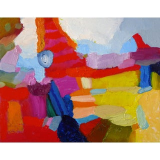 Valerie Erichsen Thomson Original | the Good Stuff | Abstract Oil Painting For Sale