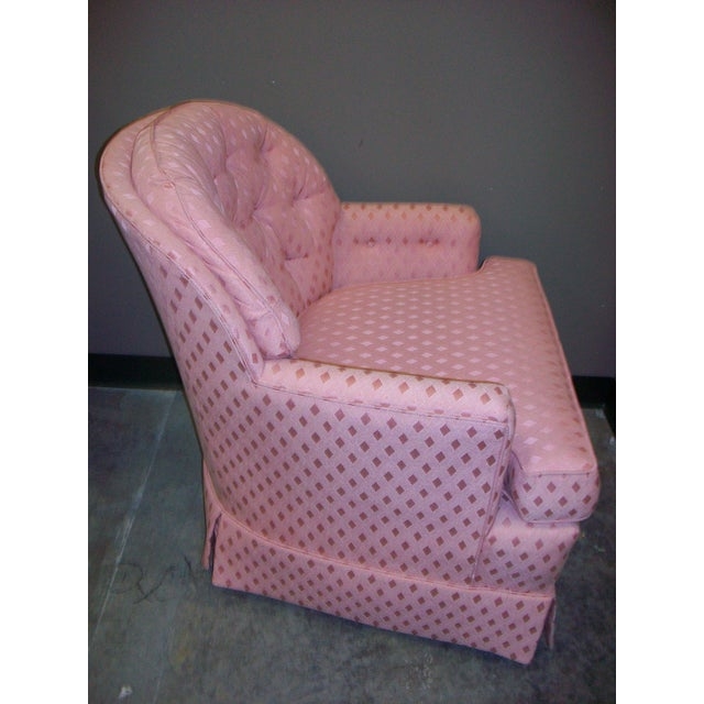 Vintage Pennsylvania House Button-Tufted Accent Chair - Image 4 of 5