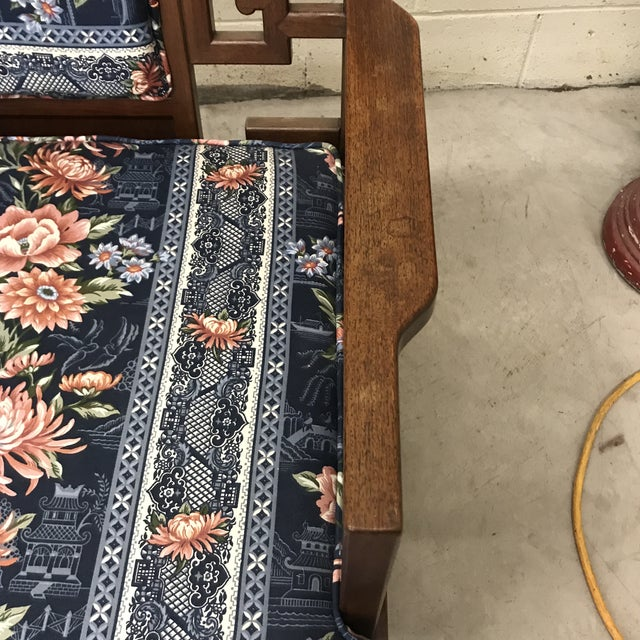 Rosewood Carved Greek Key Chairs - a Pair For Sale In Richmond - Image 6 of 12
