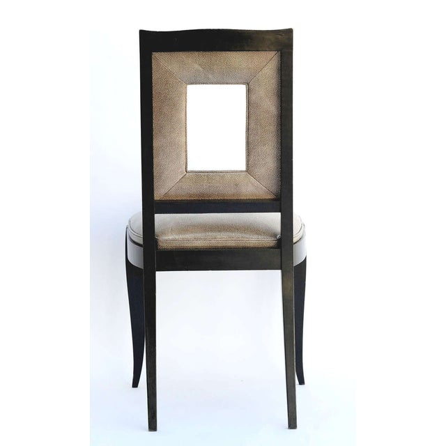 Art Deco Dining Table & 8 Chairs - Style of Leleu - Image 9 of 10