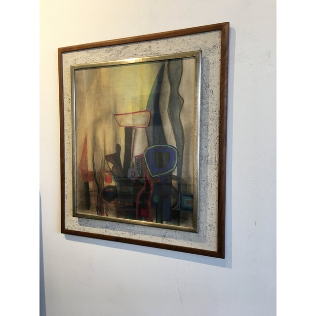 Modern Interiors Abstract Painting - Image 3 of 10