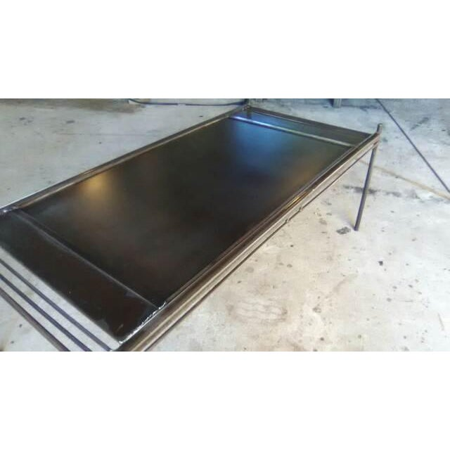 Strato Steel Coffee Table - Image 3 of 7