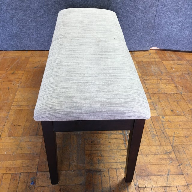 Modern Dining Chairs With Bench - Set of 5 - Image 11 of 11