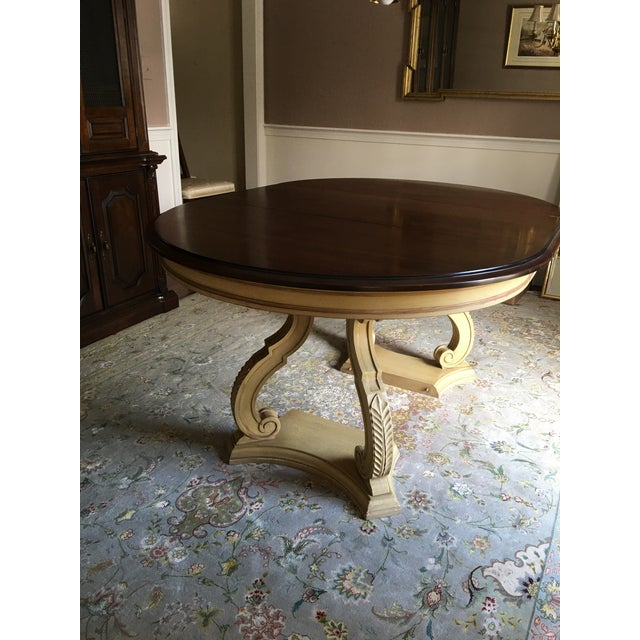 Blonde Mahogany Dining Set - Image 7 of 11