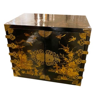 18th Century Chinoiserie Collectors Cabinet For Sale