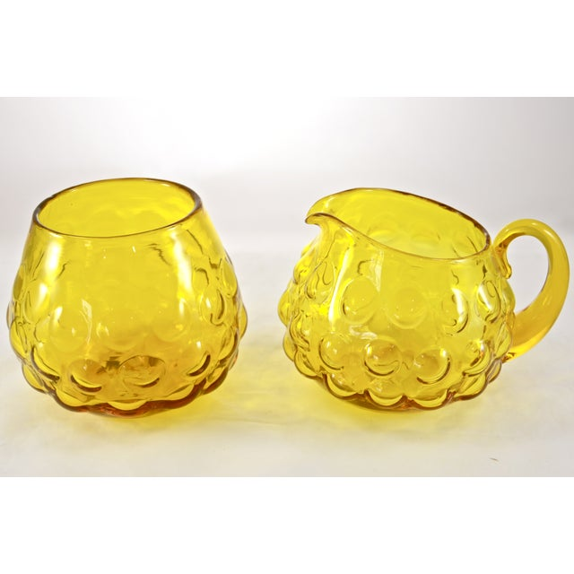 """Just in case coffee alone isn't enough to get that """"Morning, Sunshine"""" feeling percolating, try these golden-yellow glass,..."""