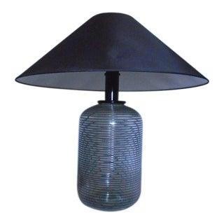 Italian Blown Glass Table Lamp