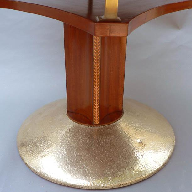 Early 20th Century Unusual Secessionist Game Table For Sale - Image 5 of 6