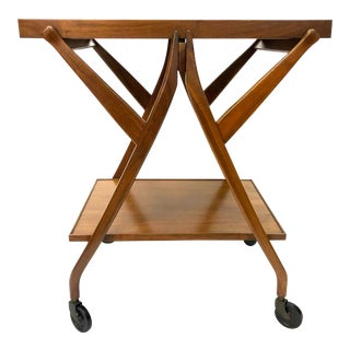 Vintage Mid Century Modern Drexel Declaration Kipp Stewart Bar Cart For Sale