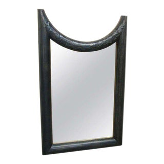 Hammered Tin Framed Mirror For Sale