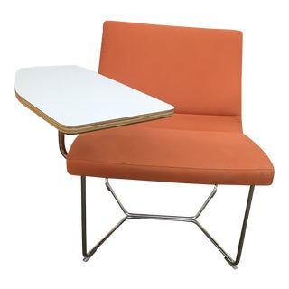 Izzy Modern Orange Home School Chair Desk For Sale