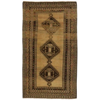20th Century Persian Hamadan Gallery Rug - 5'1 X 9'2 For Sale