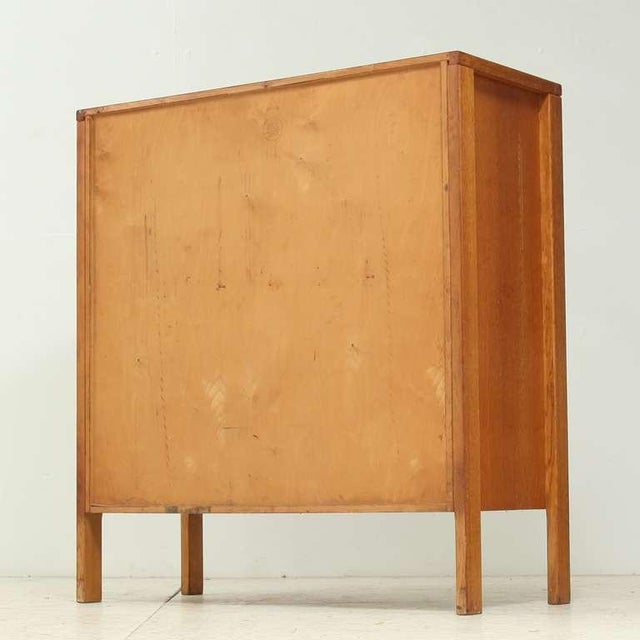 Cees Braakman early Cupboard or Bar in Oak, Netherlands, 1940s/50s - Image 5 of 7
