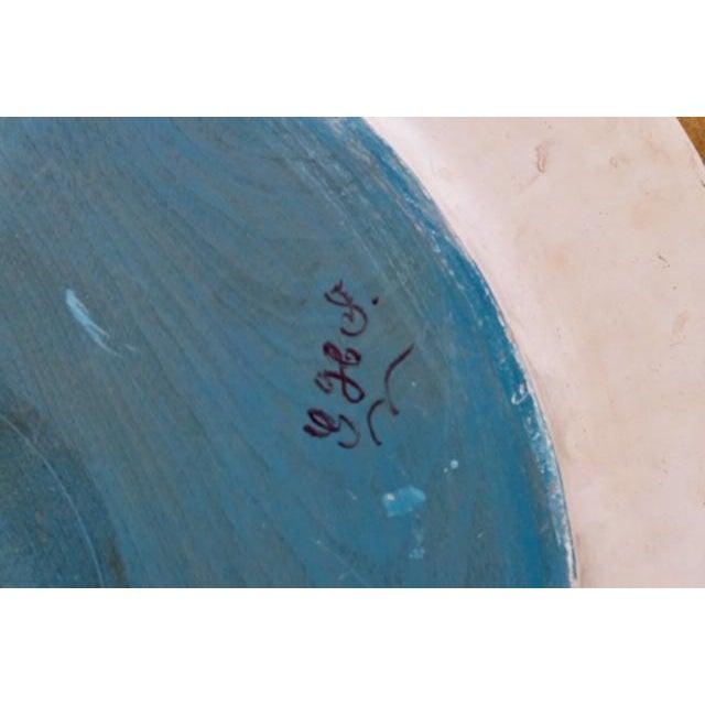 1800s Norwegian Bread Platter, Signed For Sale - Image 9 of 11