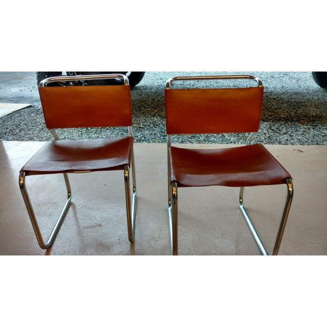 Nicos Zagraphos Chairs - A Pair - Image 2 of 11