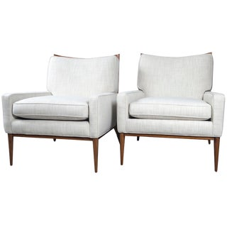 Paul McCobb for Directional Lounge Chairs - a Pair For Sale