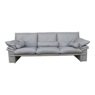 Nicoletti Italian Leather Sofa